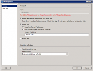 5. Topology Builder - Primary IP