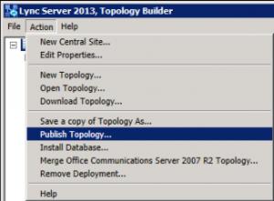 6. Toploogy Builder - Publish Topology